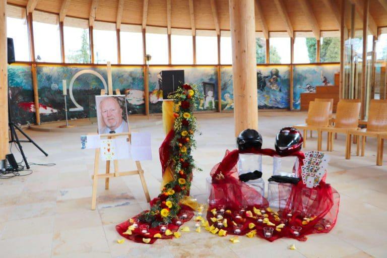 Eventbestattung - Trauerfeier, der Abschied individuell gestaltet