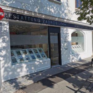 Bestattung Zadrobilek Standort in 2340 Mödling